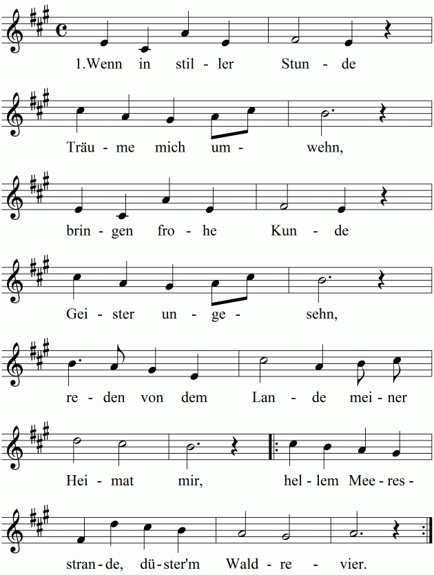 Trauergottesdienst Lieder