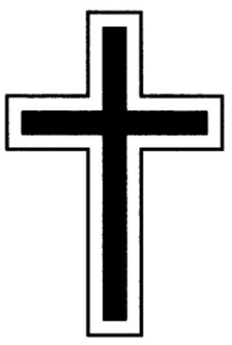 Bildergebnis für kreuz trauersymbol