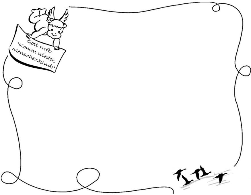 Zierränder für Trauerpost kostenlose Grafiken