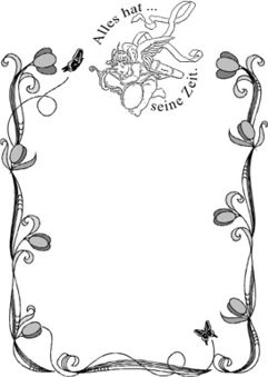 sarg bemalen - urne persönlich gestalten, Einladung