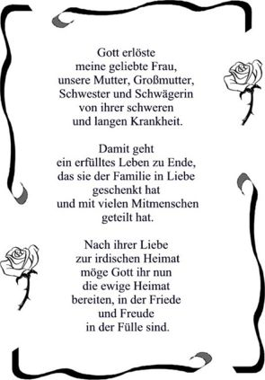 Gedicht mutter abschied